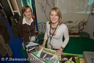 Emilie et Christelle GALLAOIS, ambassadrices du Festival au Salon de la Photo