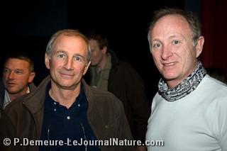 Eric Dragesco et Henri Ausloos, le président du jury