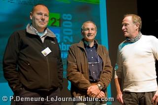 Franck Renard, Eric Dragesco et Henri Ausloos