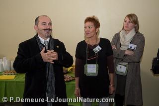 Régis Lafarge, Président - Alda-Maryse BOURDON, responsable de la rédaction et du suivi internet - Emilie GALLOIS, suivi de communication